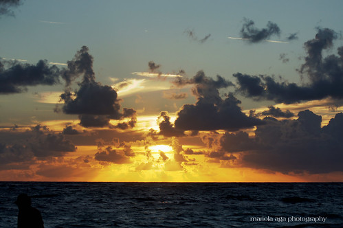 ocean light sky sun sunlight clouds sunrise dominicanrepublic 75300mm sunrays atlanticocean puntacana bavaro thegalaxy