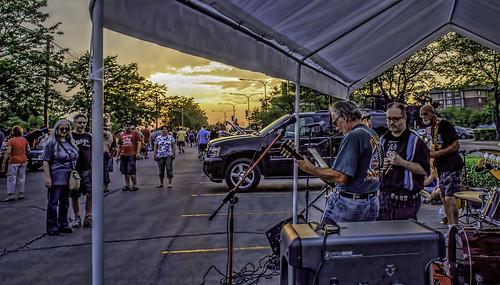 people illinois sunsets bands odc mountprospect muscians hss nikkor18300mm ourdailychallenge sliderssunday bluesmobilecruisenight