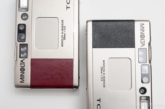 Minolta TC-1, Red & Black