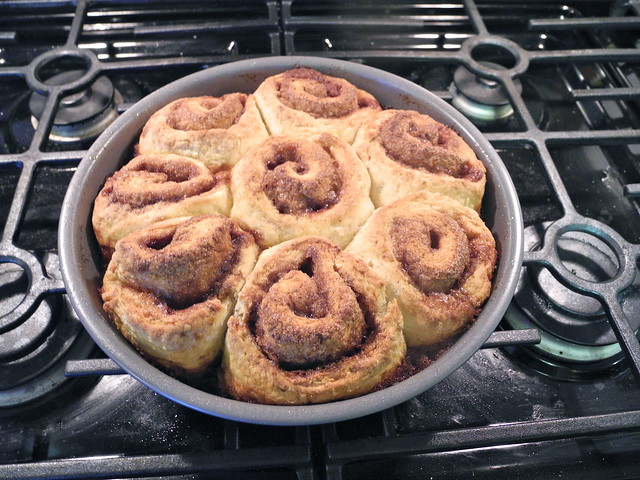 Quick and Easy Buttermilk Cinnamon Rolls