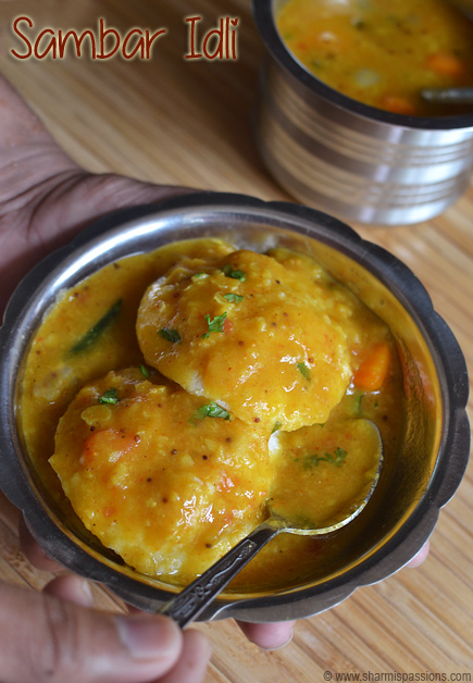 Easy Idli Sambar Recipe