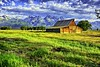 Early Morning at the Thomas Moulton Barn, Mormon Row, Grand Teton National Park by lhg_11, 1.5 million views. Thank you!