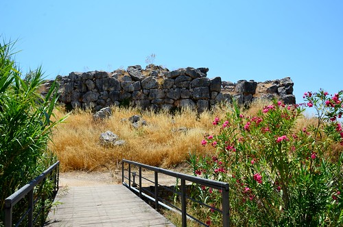Mycnean citadel of Tiryns, 13th cent. BCE (2)