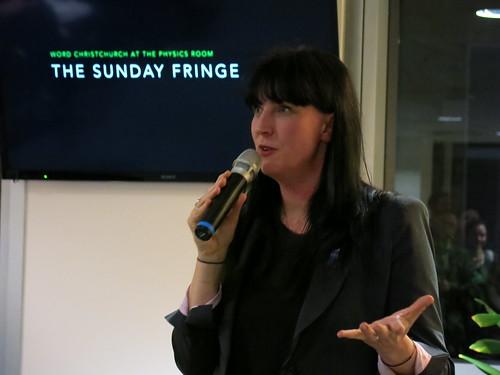 Literary director Rachael King