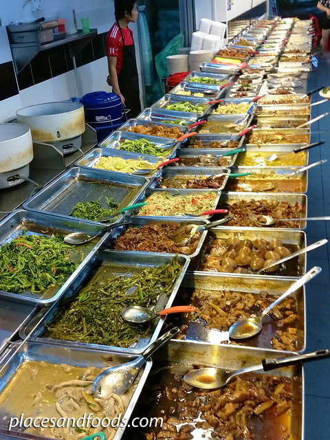 restoran 12 mixed rice food