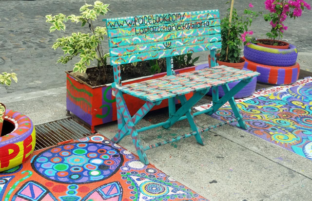colorful-benches
