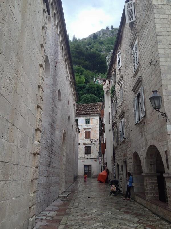 Kotor's streets