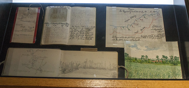 Rudolf Lange sketches and notes