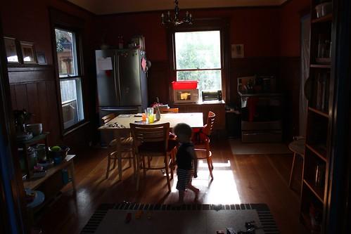 Makeshift Kitchen