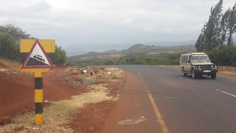 Descent to Lake Manyara
