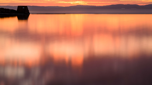 sunset red clevedon