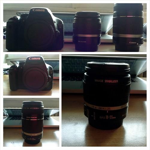da cosa ho iniziato: 550D canon