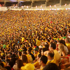 Maracana, The Yellow Wave.