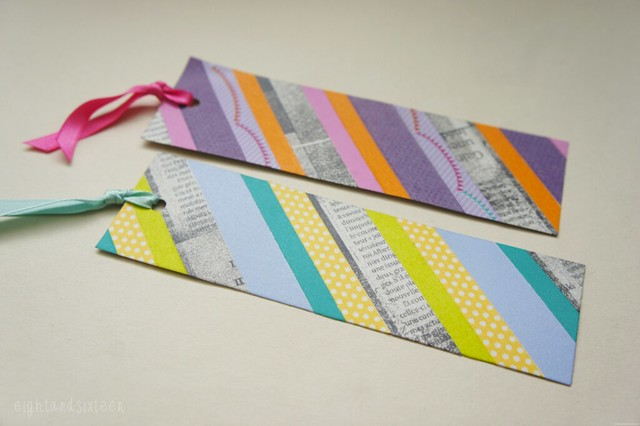 washi bookmarks