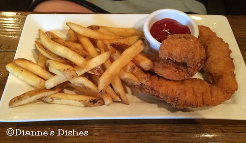 The Main Cup: Chicken Tenders and Fries