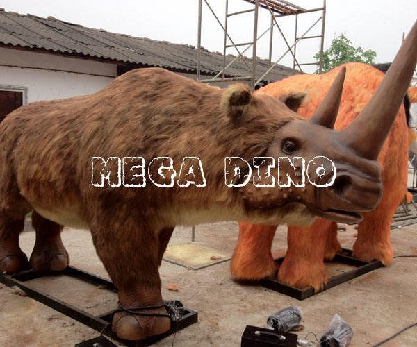 Animatronic Woolly Rhinoceros for Sale