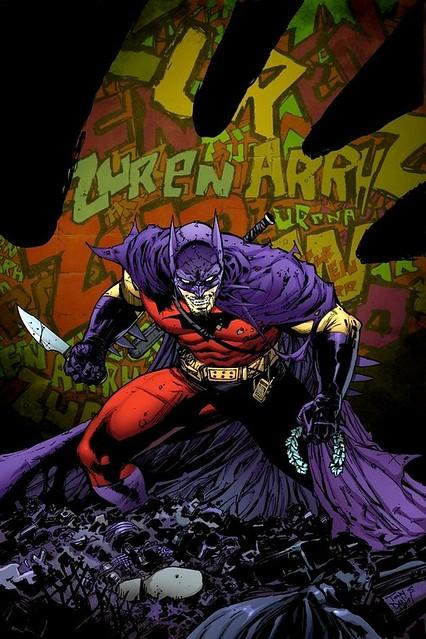 SDCC 2014 LEGO Zur-En-Arrh Batman