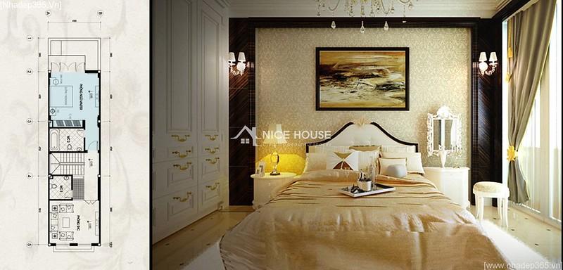 Thiết kế nội thất nhà anh Lý - Hà Đông_09