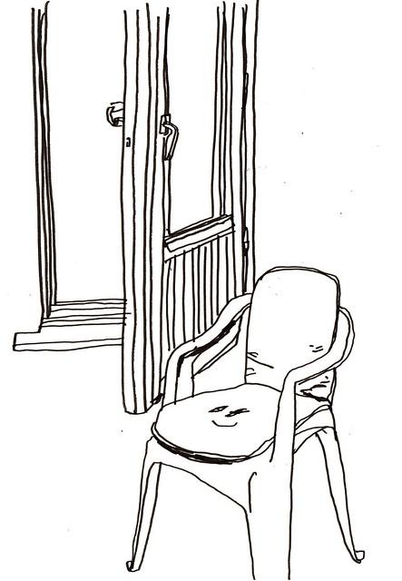 stol och altandörr