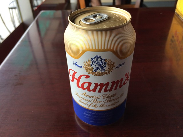 Hamm's beer - The Boar's Nest