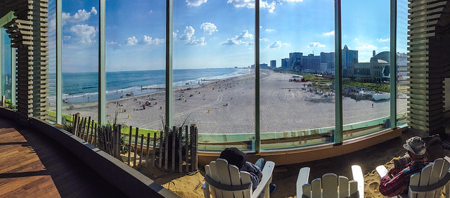 Atlantic City: Interior Beach with Great View