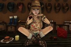 Cowgirls lunch-break