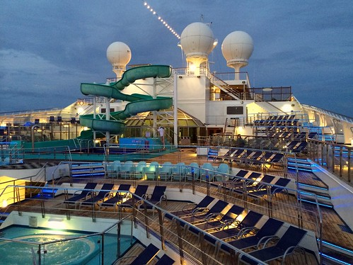 Current Position and Itinerary for the Carnival Glory ...
