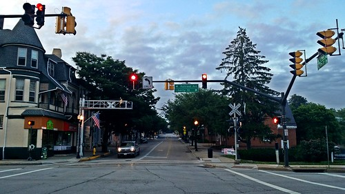 road county railroad morning westminster june sunrise way early town md downtown track ben web tracks maryland rail railway down area rails mornings carroll roads railways ways midland railroads 2014 rxr trackway trackways marylandmidlandrailway schumin schuminweb