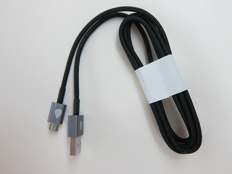 Juices+ - Black Micro USB Cable