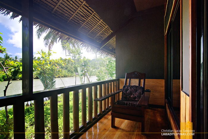 Riverside View of the Loboc River Resort in Bohol
