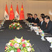Bilateral meeting with Chinese President