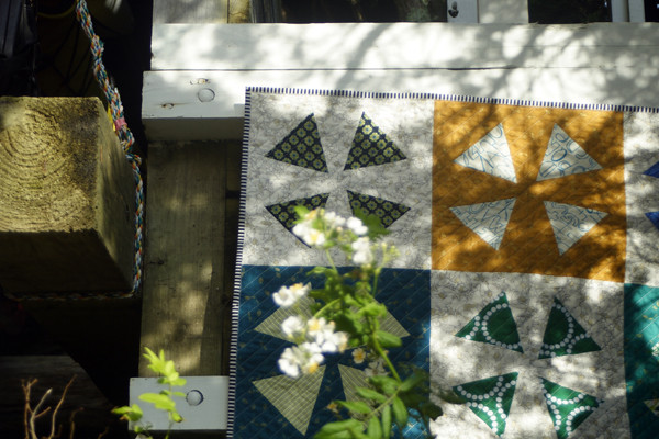 Floating Wedge quilt
