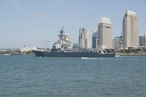 USS Gridley Departs for Deployment