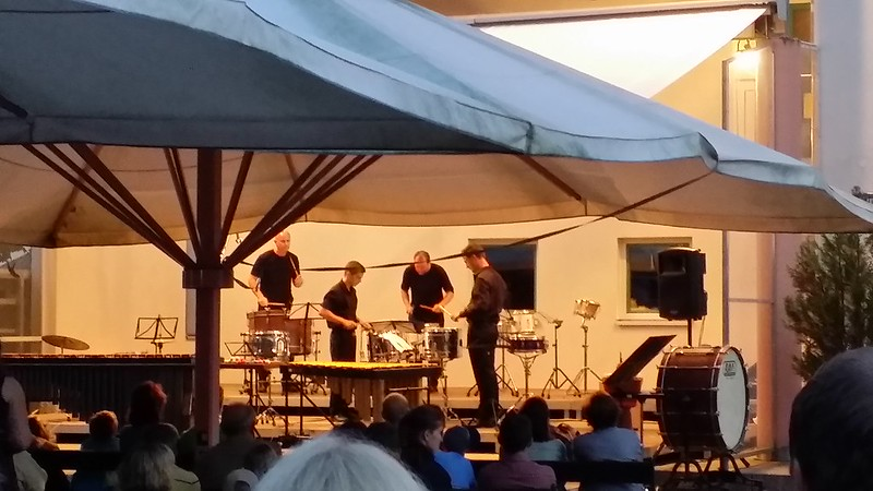 Drum and percussion concert in Fuschl