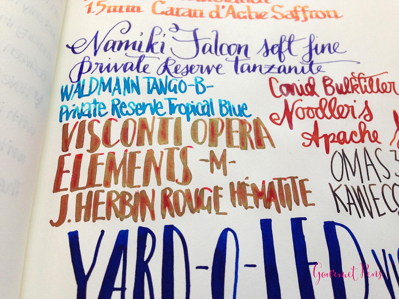 Currently Inked: August 29. 2014