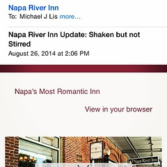 Great email #napa