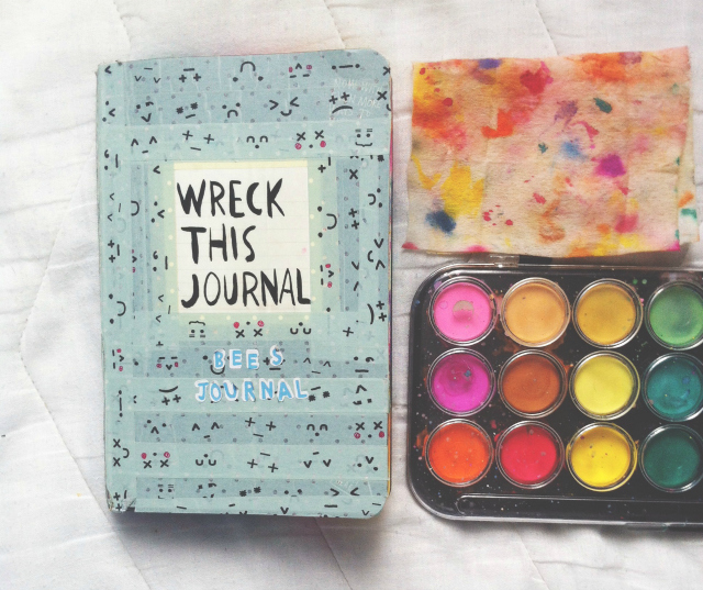 vivatramp wreck this journal examples lifestyle book blogger uk