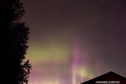 Aurora Borealis 4am 8-30-14Anchorage, Alaska