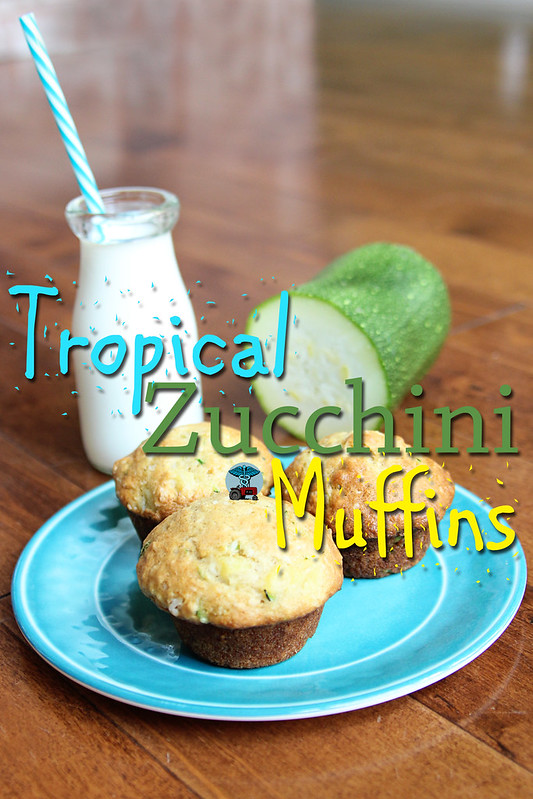 Tropical Zucchini Muffins