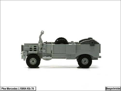 Pkw Mercedes L1500A Kfz 70