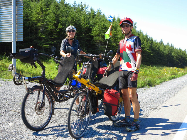 Trans Canada Blog Now In Newfoundland With Nazca Quetzal Tandem
