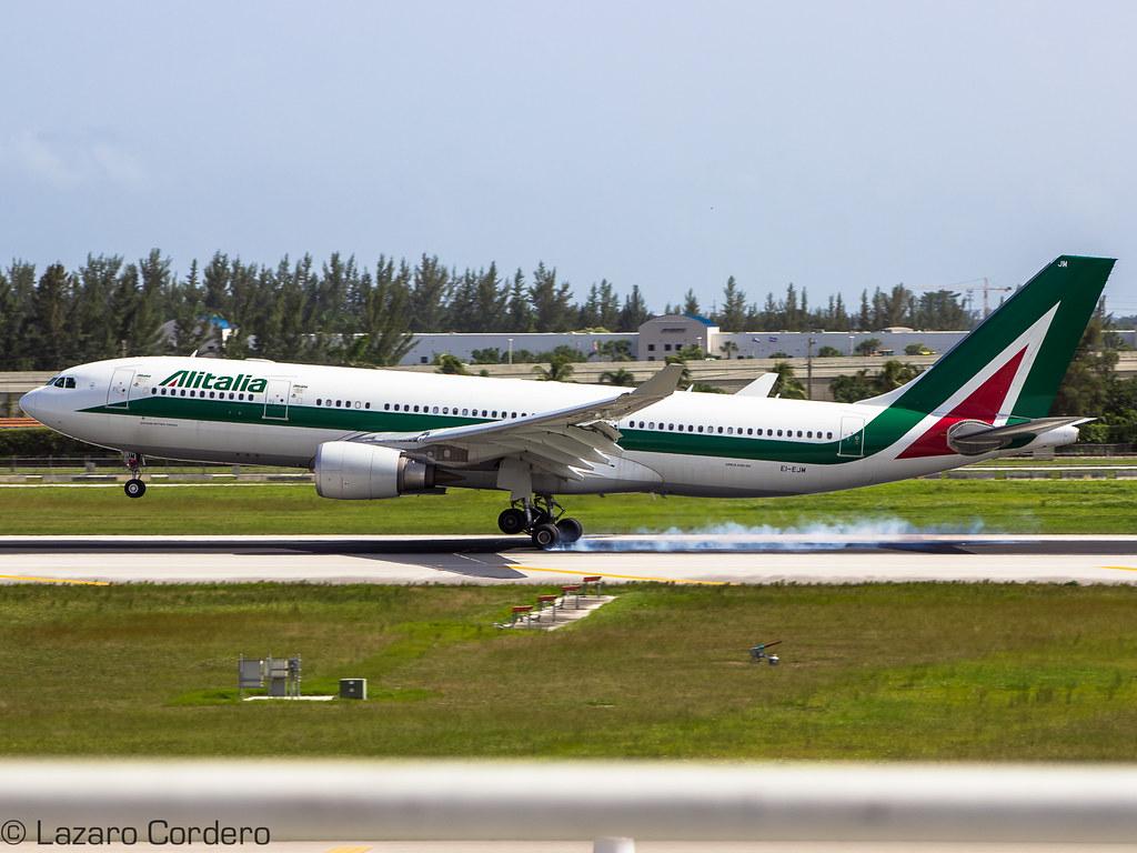 EI-EJM - A332 - Alitalia