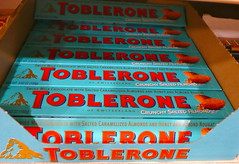 special flavour of Toblerone spotted in Texas