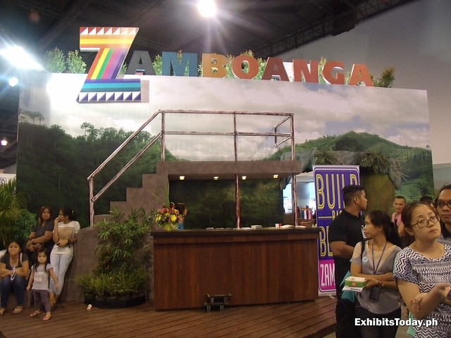 Back of Zamboanga Exhibit Booth