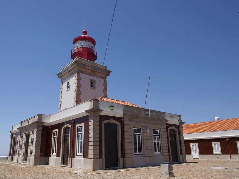 Cabo da Roca, Portugal, Atlantic Ocean, cliffs, travel, lighthouse