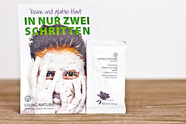Fairy Box, Fairy Box September 2014, tierversuchsfreie Beautybox, Box ohne Tierversuche, Living Nature Cleansing Clay Peel