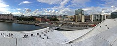 Looking from the rooftop