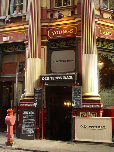 Old Tom's Bar, Leadenhall Market, London EC3