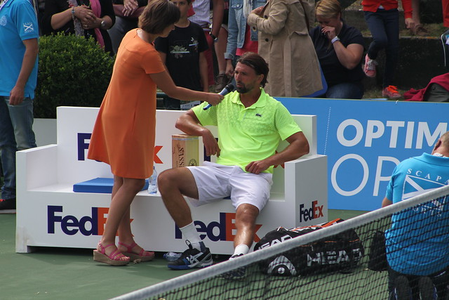 Dominique Monami and Goran Ivanisevic