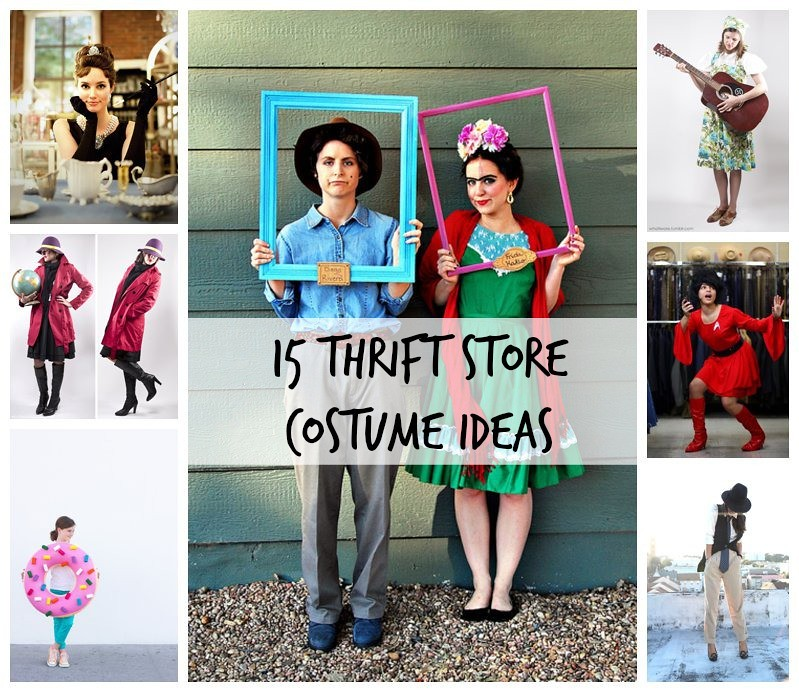15 Thrift Store Costume Ideas